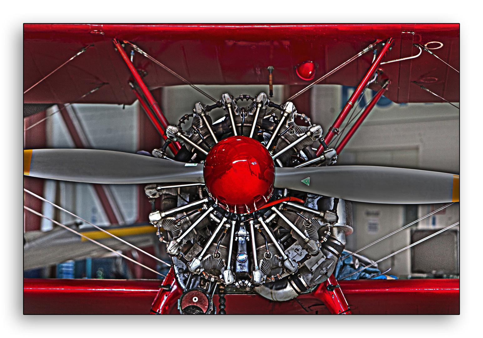 Sternmotor in HDR
