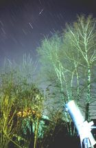 Sternschnuppen der Perseiden vom 10. bis 14.8.2005