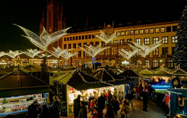 Sternschnuppenmarkt auf dem Schloßplatz