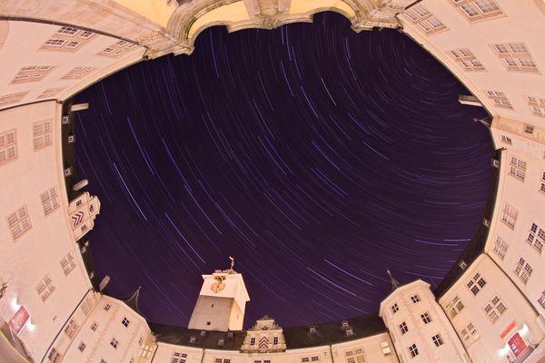 Sternstrichspuren