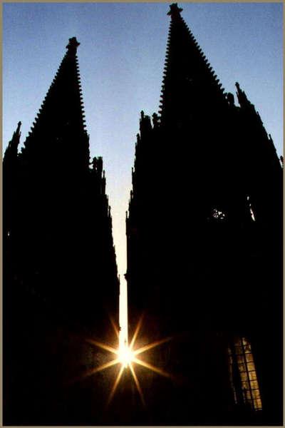 Sternstunde auf dem Kölner Dom