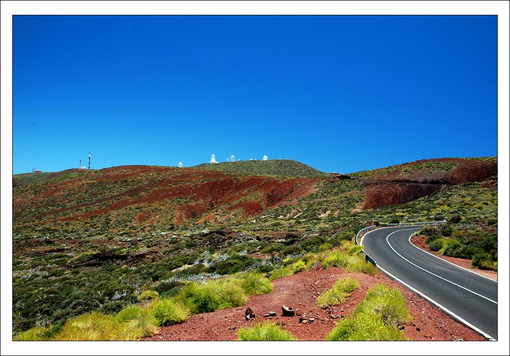 Sternwarte am Pico del Teide