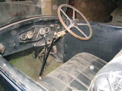 Steuerrad von Renault NN2, Jg. 1927