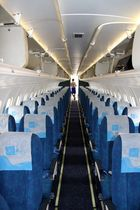 Stewardess is waiting.....