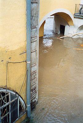 Steyrer Hochwassermarken seit dem 16. Jh.