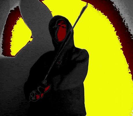 StG - Ninja - rising sun / crimson face