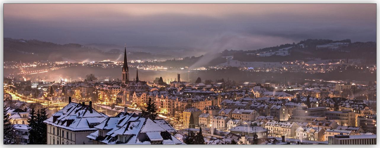 St.Gallen bei Nacht