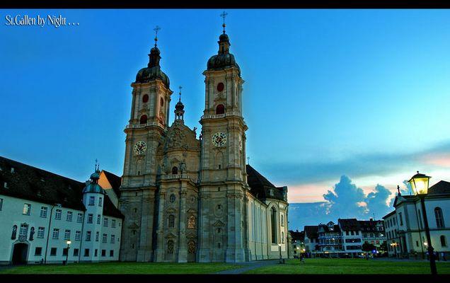 St.Gallen by Night