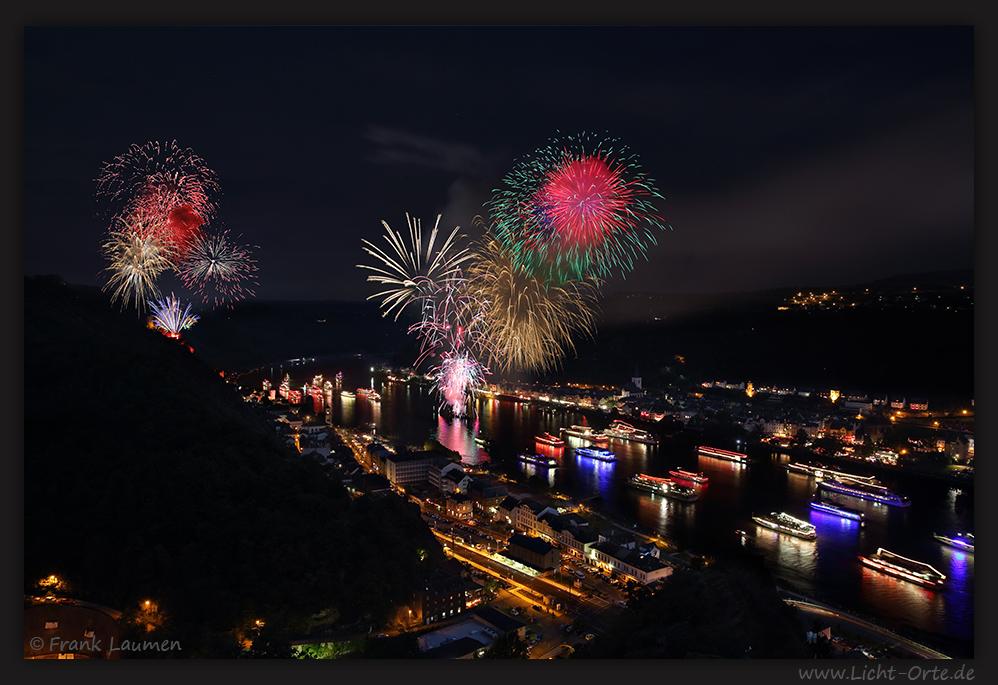 St.Goar - Rhein in Flammen 2013