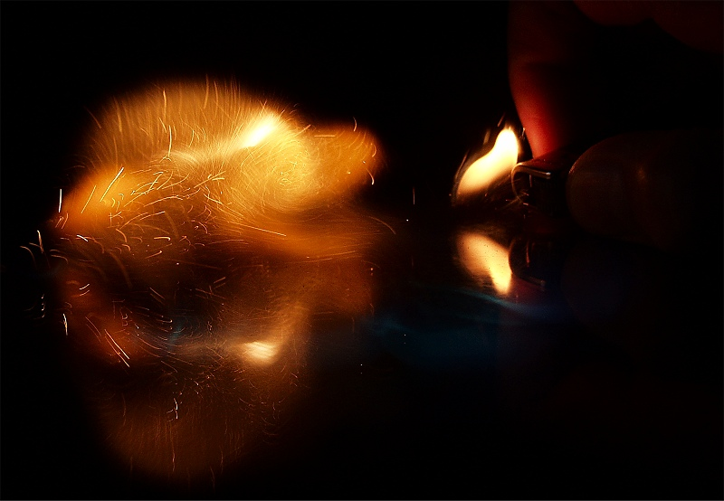 Stichflamme (2)...