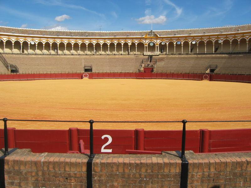 Stierkampf-Arena in Sevilla