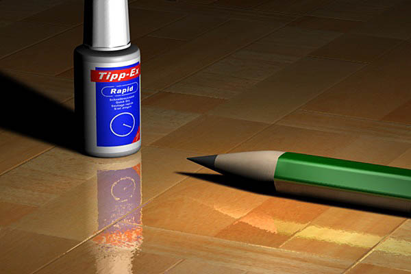 Stift und TippEx