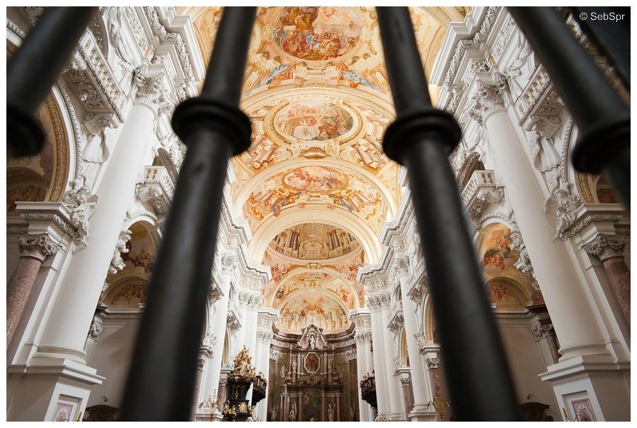 | Stiftbasilika in St. Florian (Österreich) |
