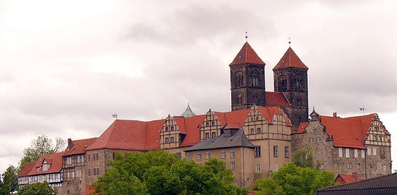 Stiftkirche von Quedlinburg...