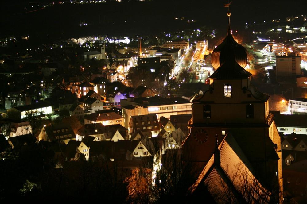 Stiftskirche bei nacht