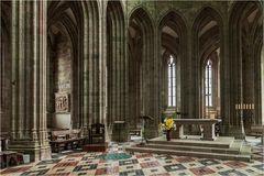 Stiftskirche Mont Saint-Michel (Normandie)