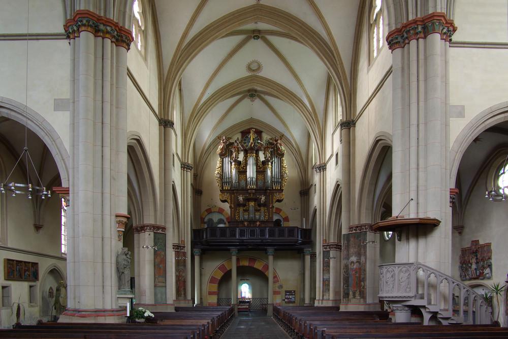 Stiftskirche St.Martin Münstermaifeld/Vordereifel