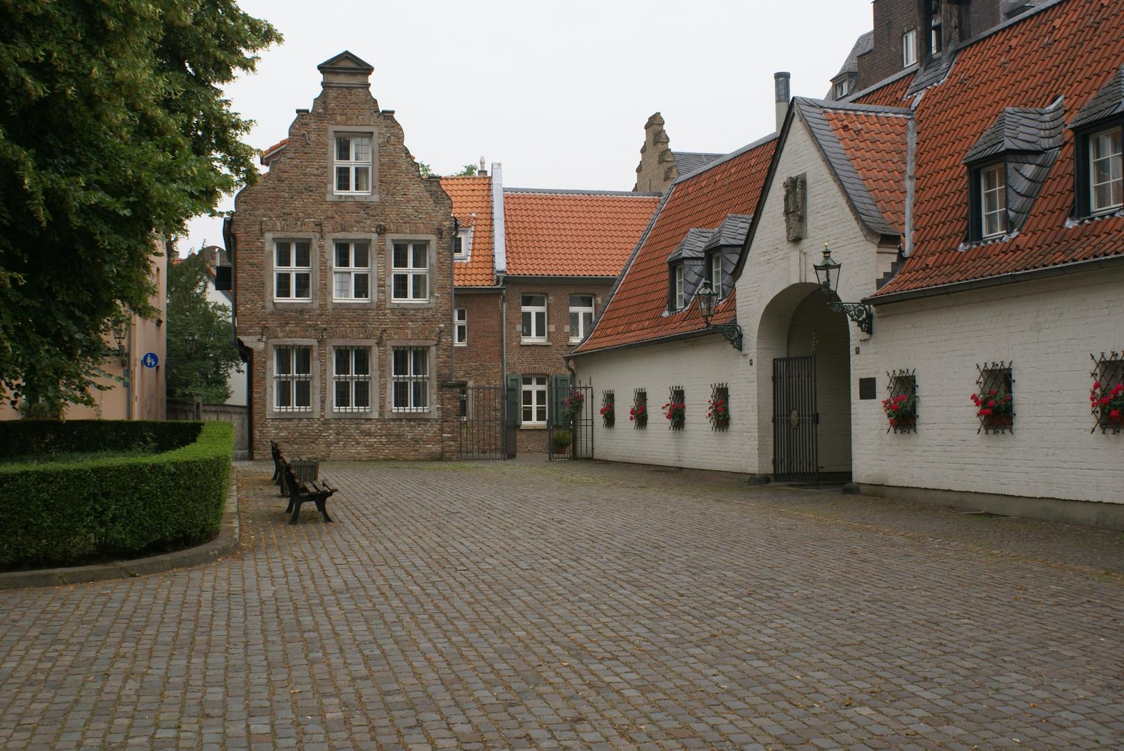 Stiftsplatz in Kaiserswerth