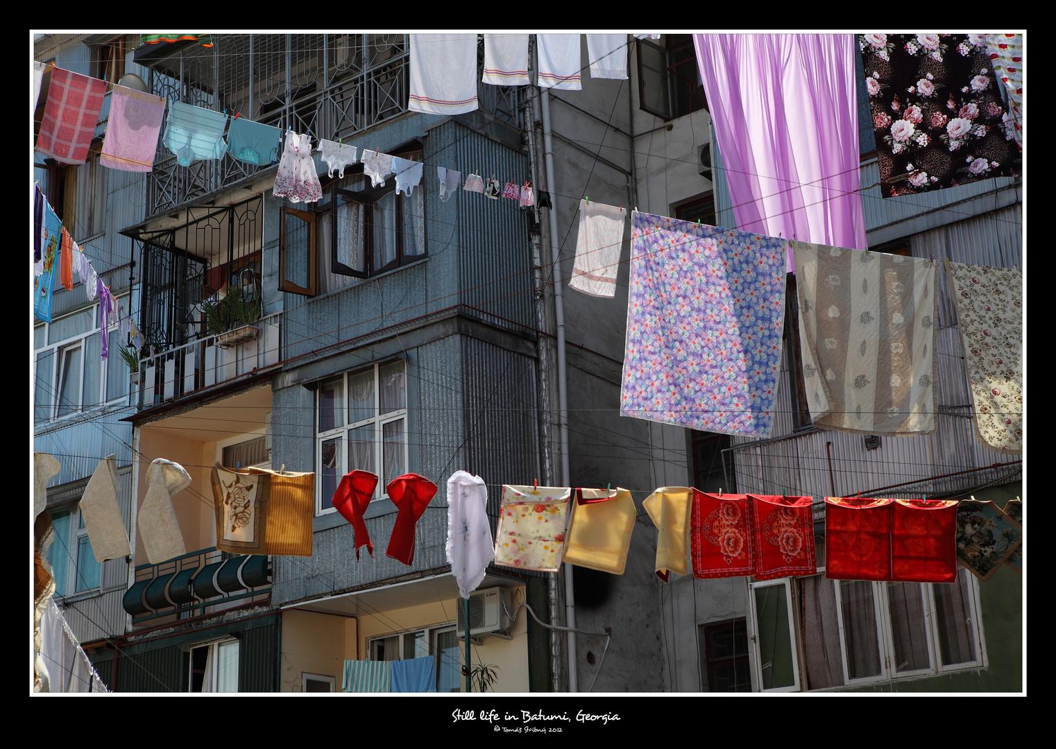 Still life in Batumi