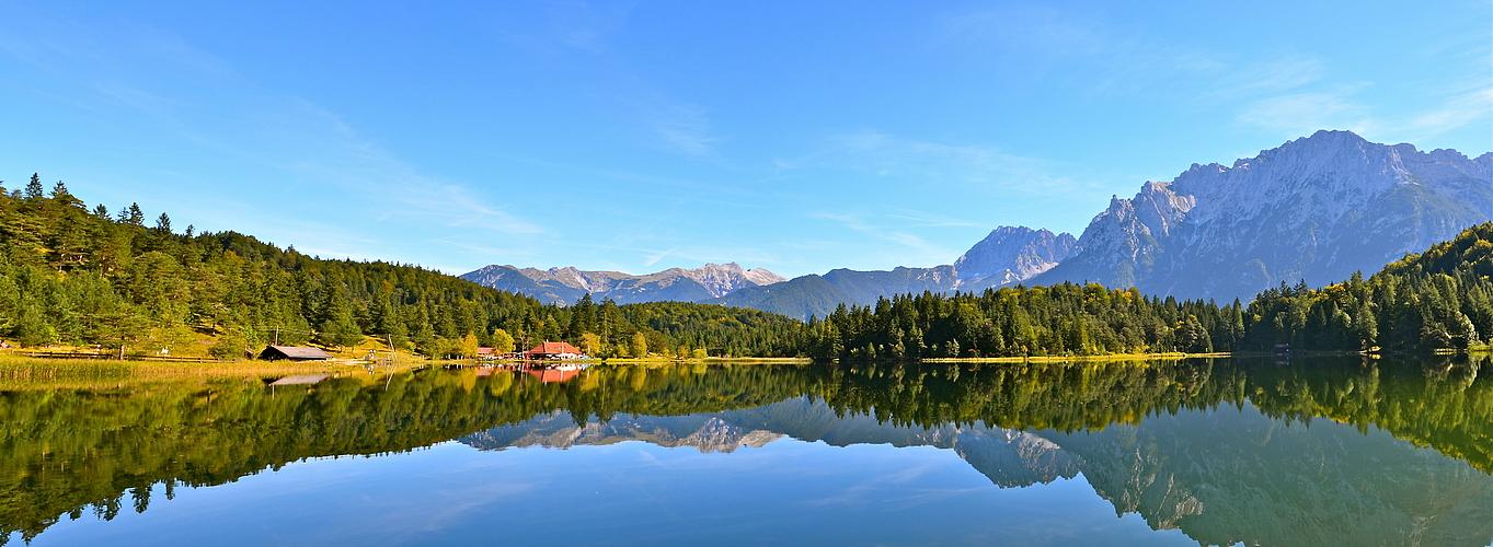 Still ruht der Lauter- See