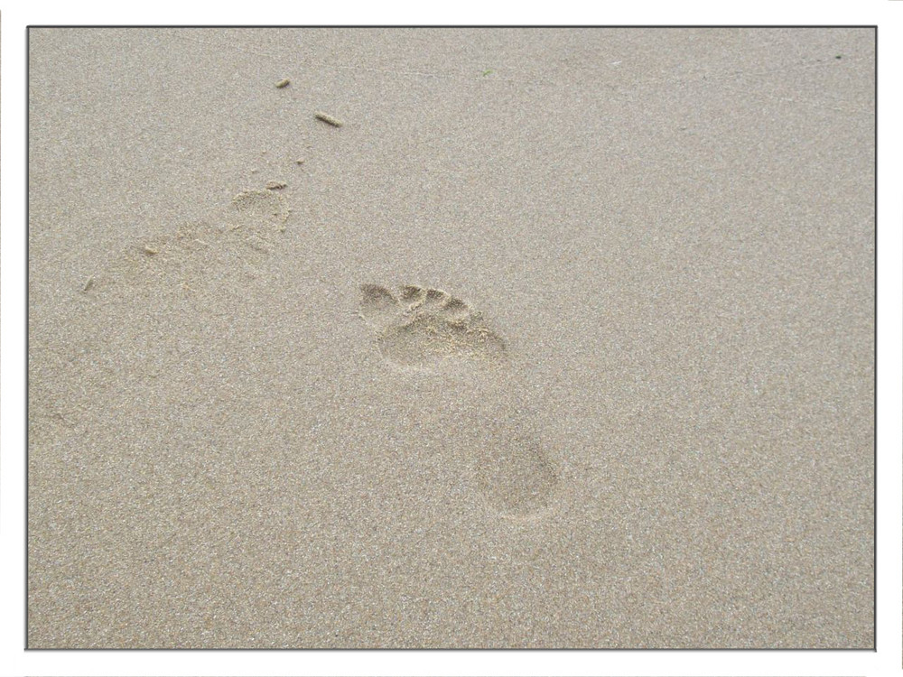 Still sand in my shoes...