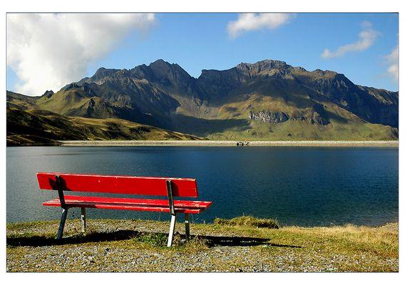 Stille am Bergsee