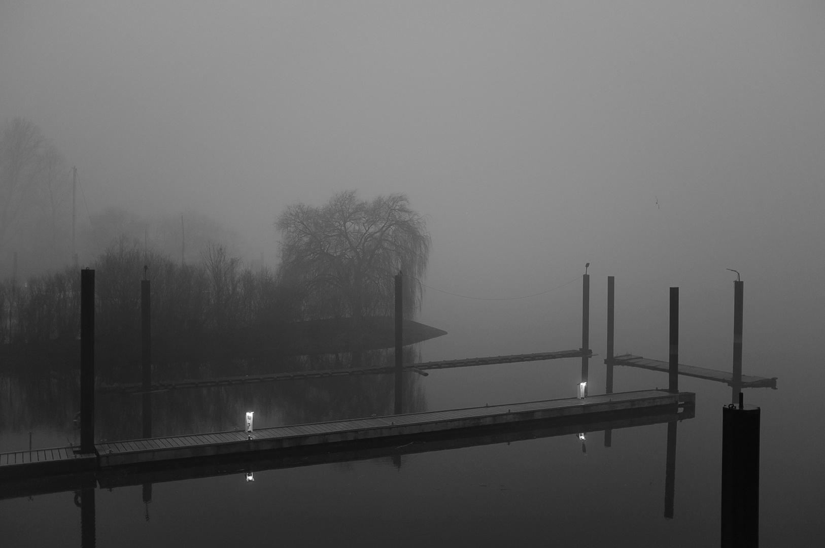 Stille am Fluss