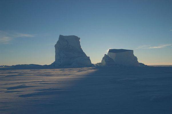 Stille am kältesten Ort der Erde