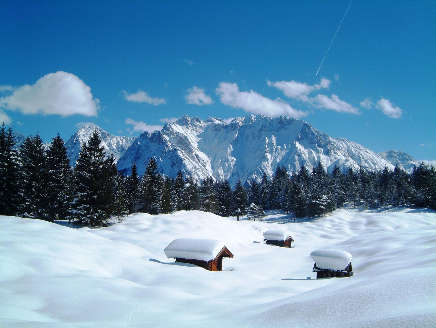 Stille am Karwendel