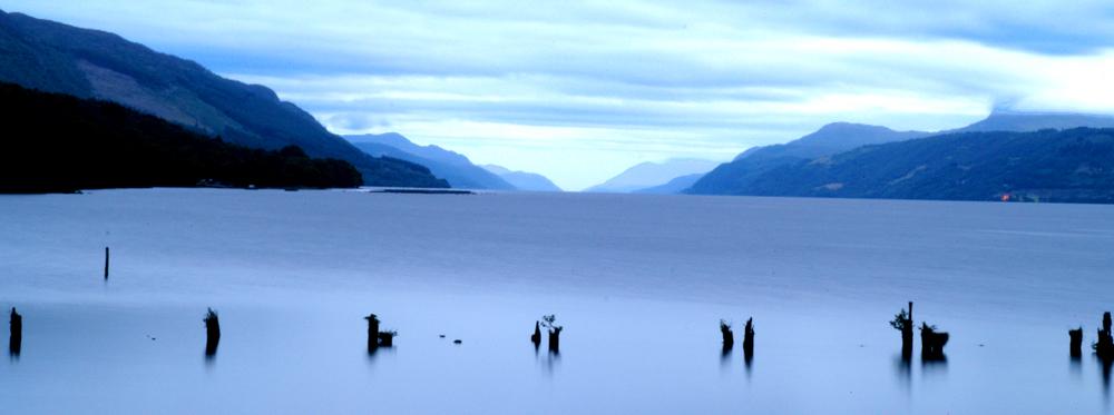 Stille am Loch Ness
