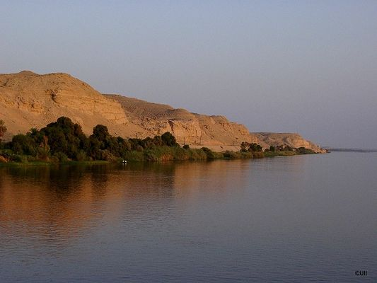 Stille am Nil
