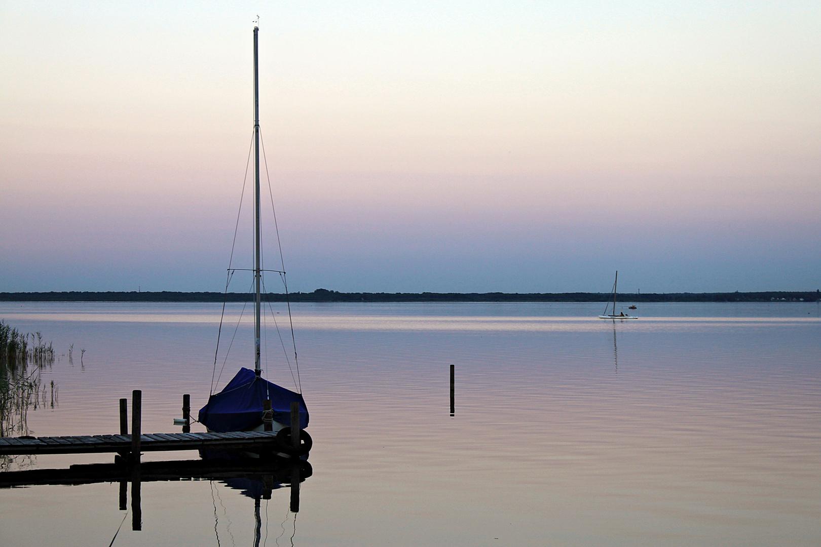 Stille am Steinhuder- Meer