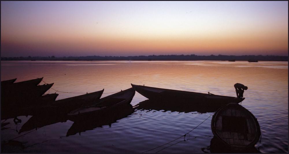 Stille am Wasser