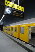 """""""STILLE"""" Berliner U-Bahn"""