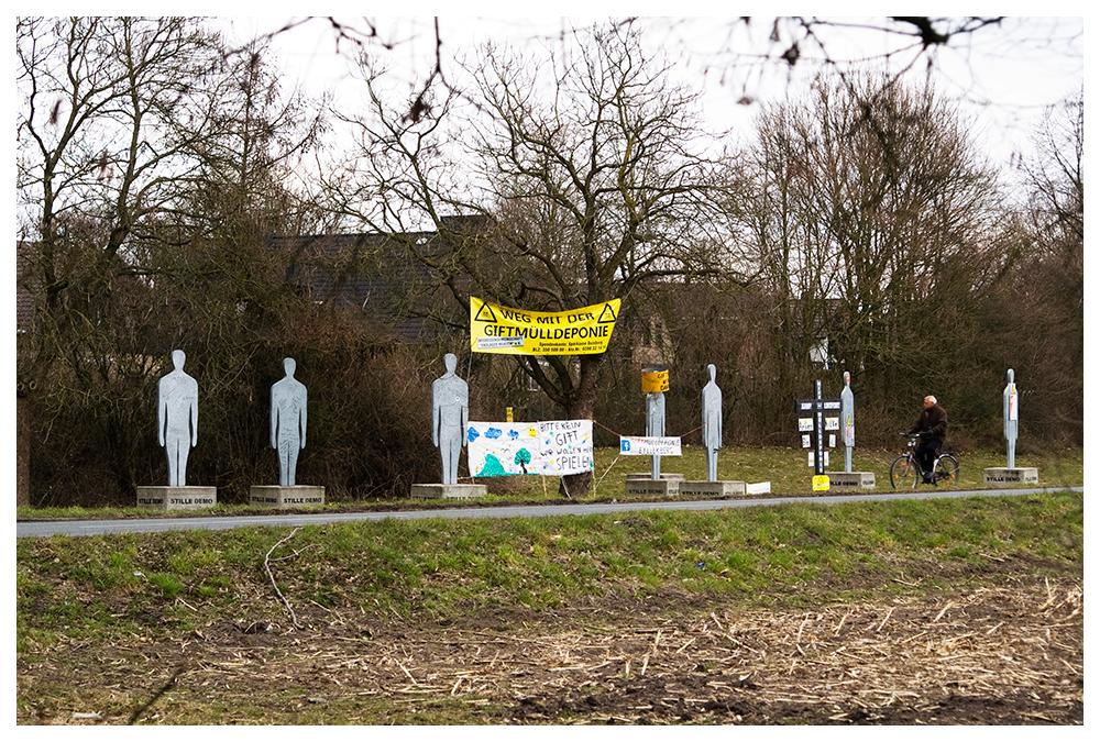 Stille Demo am Eyller Berg, Kamp-Lintfort