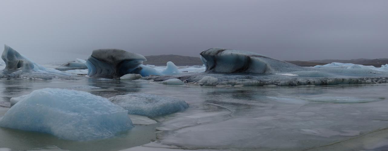 Stille Eisschönheit