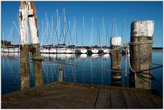 Stille im Breeger Hafen...