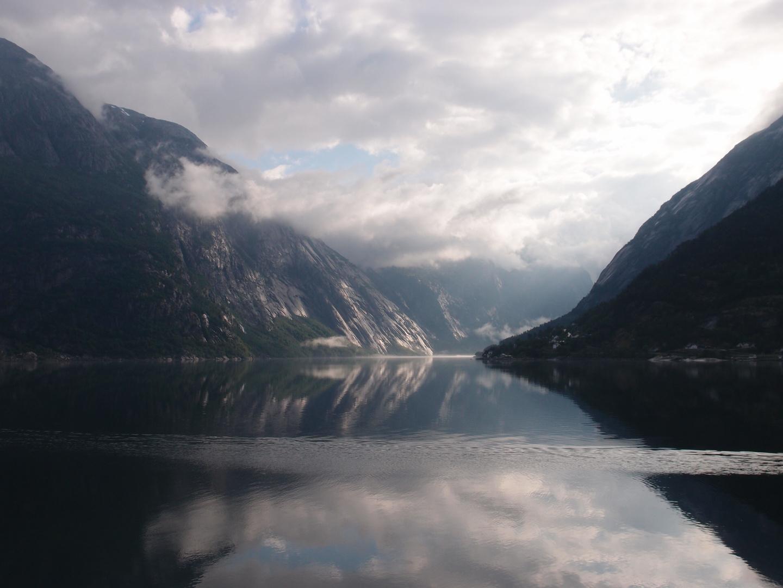 Stille im Eidfjord