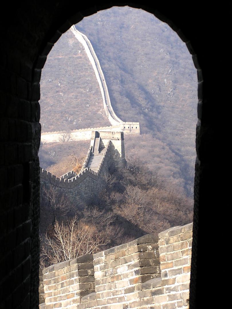 Stille in China