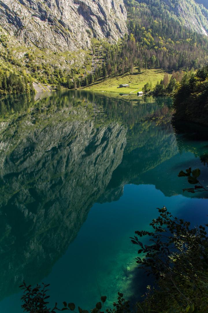 Stille Wasser sind tief.....und schön.