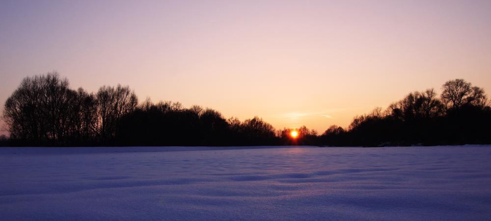 Stille Winterwelt