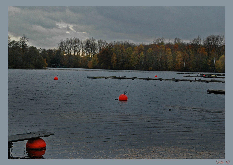 Stille....am Unterbacher See