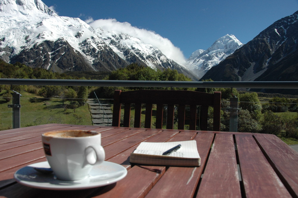 Stilleben am Mount Cook