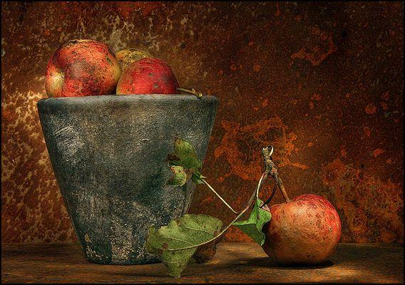 Stilleben mit Äpfel 2