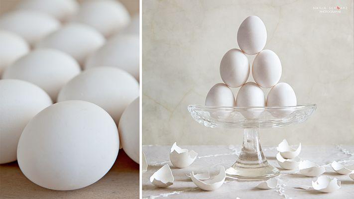 Stilleben mit Eier