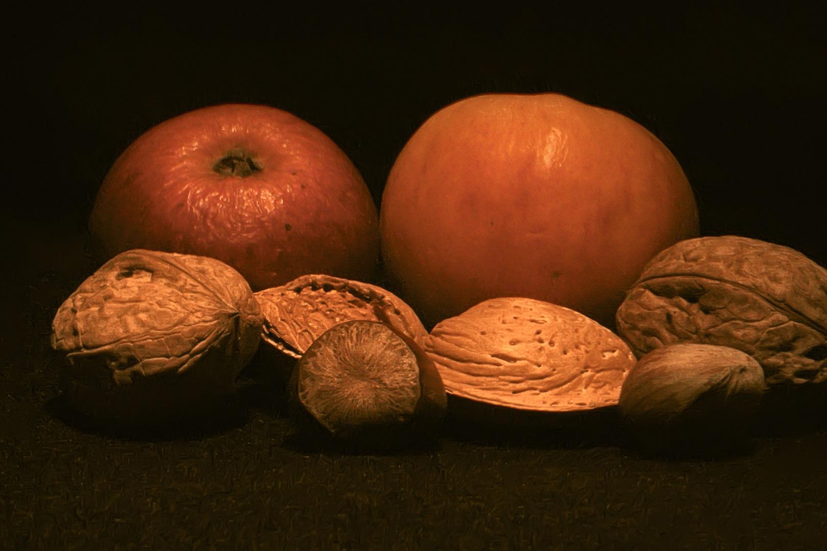 Stilleben mit Früchten
