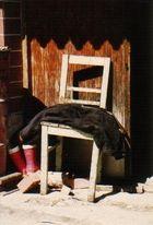 Stilleben mit Stuhl
