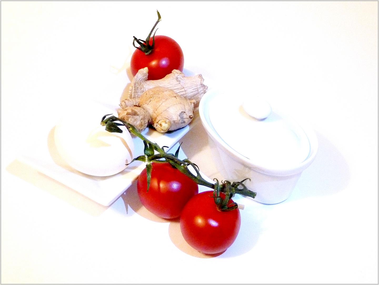 Stilleben mit Tomaten