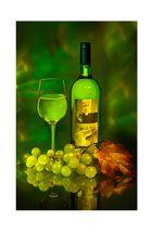 Stilleben Weinschorle