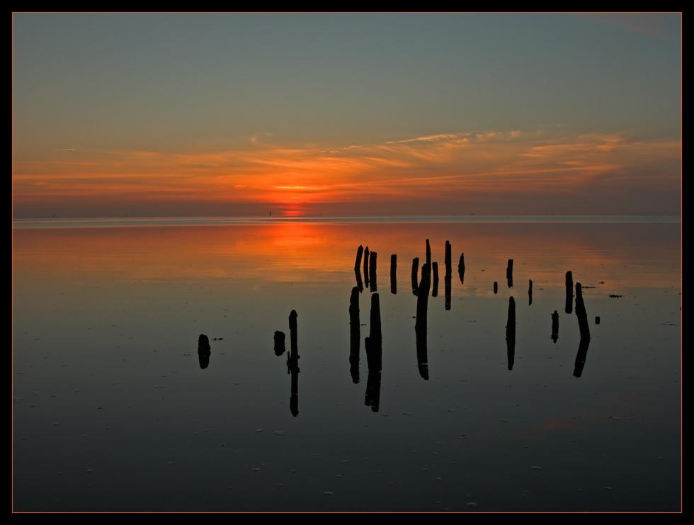 Stiller Nordsee Abend